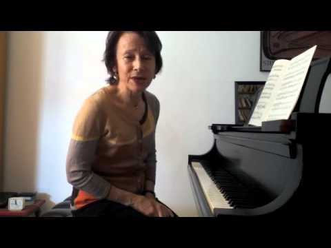 Edna Golandsky: Playing arpeggios.