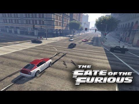 Gta 5   Fate of the Furious   The Crew Vs Dom Scene!