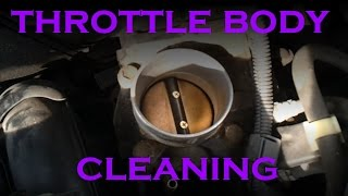 Camry Throttle Body Cleaning