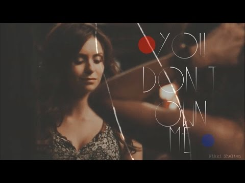 ► you don't own me