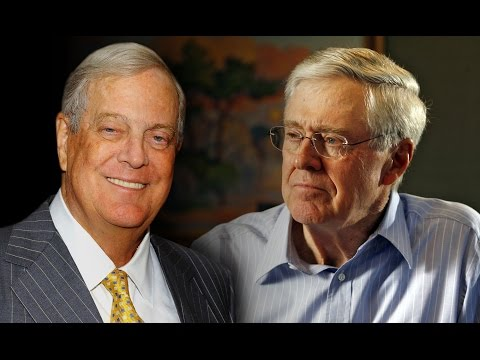 All About The Koch Brothers - Charles and David Koch