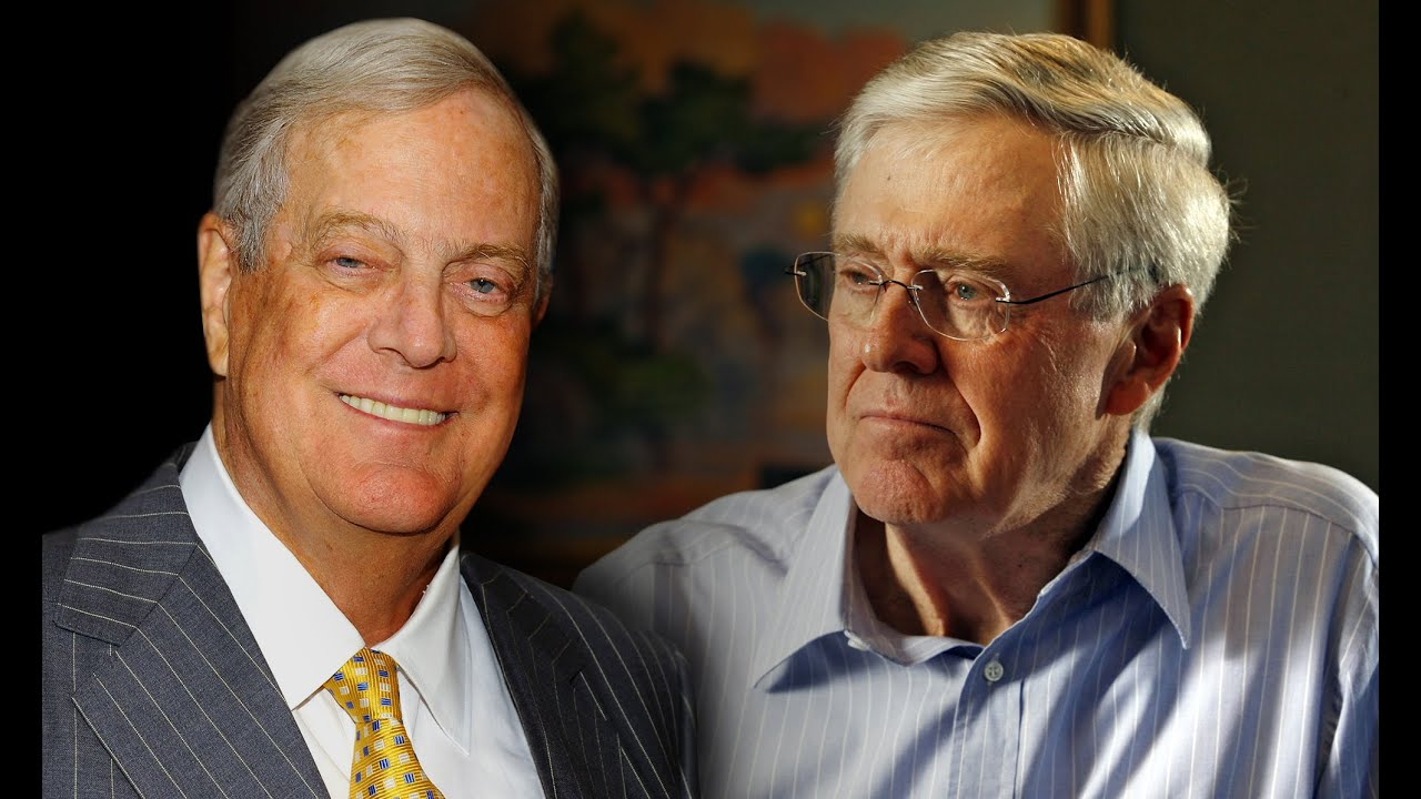 All about the koch brothers charles and david koch youtube for Charles und david koch