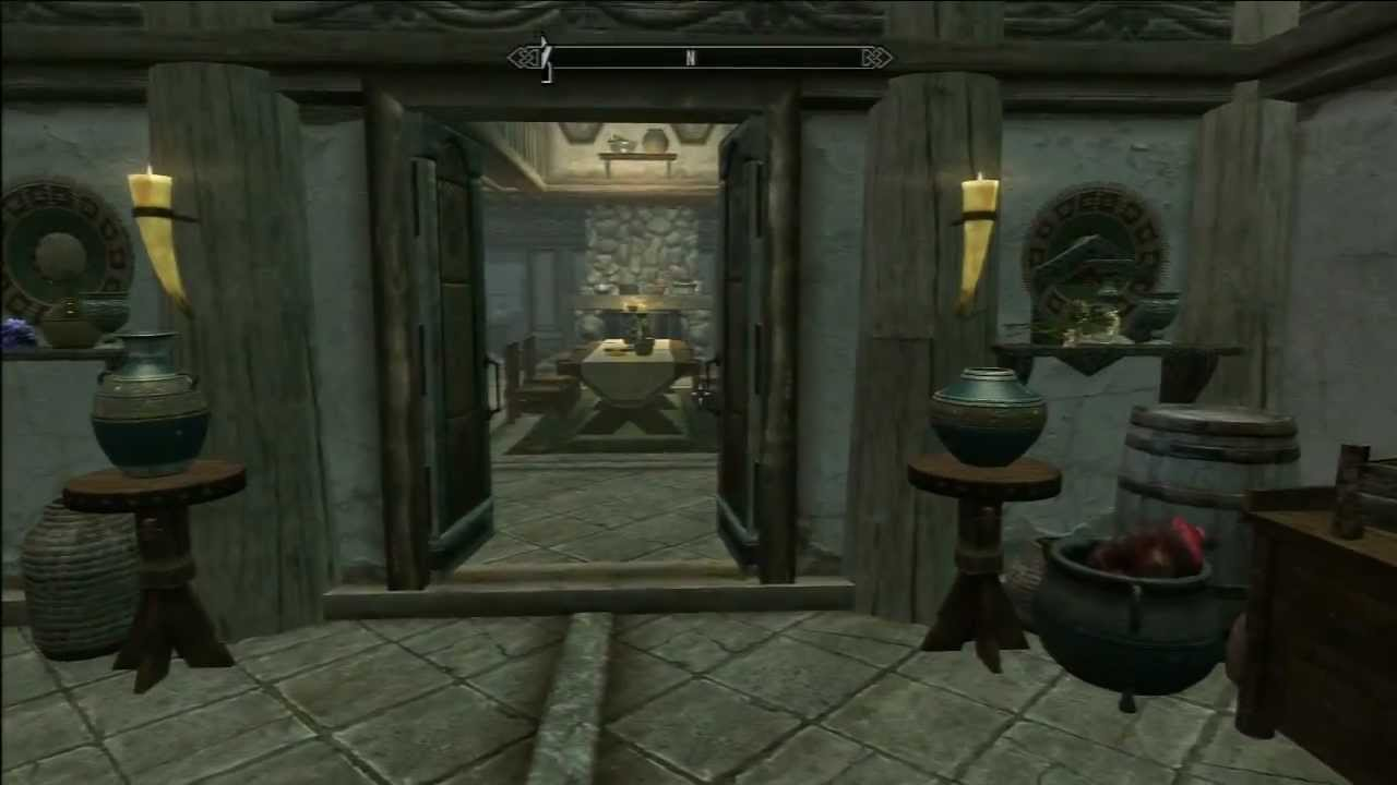 Skyrim hearthfire lakeview manor completed fully for Best house design hearthfire