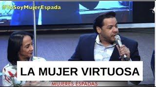 Un MATRIMONIO PREDICANDO LA MUJER VIRTUOSA - Que DUO -   Pastores Geovann y y Sondy Ramirez