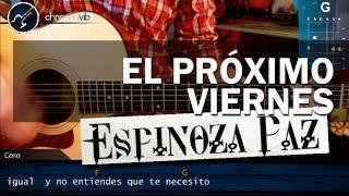 """Cómo tocar """"El Próximo Viernes"""" de Espinoza Paz en Guitarra Acústica (HD) COMPLETA - Christianvib"""