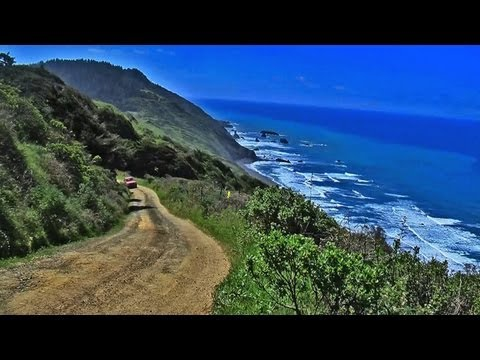 The Lost Coast - Usal Road Mendocino California 2013