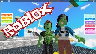 Roblox #65 Parkour Journey with Nubz Games #2 Nubz plus Bugada still haha
