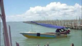 ปัตตานี - ตกปลาที่คอกหอยโพงพราง (3)