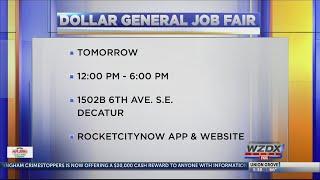 Dollar General job fair