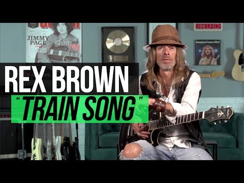 "Rex Brown - ""Train Song"" Playthrough"