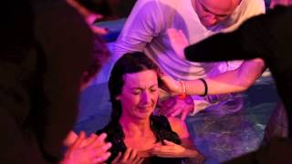 Baptism in water and baptism with the Holy Spirit at the same time!