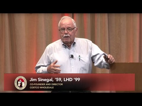 Jim Sinegal - Provost Lecture Series Spring 2017