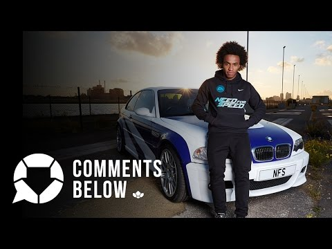 Willian on Chelsea, Fast Cars & His Incredible Hair | Comments Below