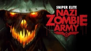 Sniper Elite Nazi Zombie Army Gameplay HD PC