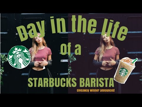 A Day In The Life Of A Starbucks Barista // GIVEAWAY WINNER ANNOUNCED