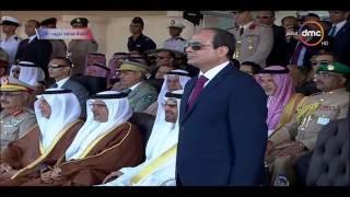 الرئيس السيسي يشهد تخريج دفعات من الكليات والمعاهد العسكرية