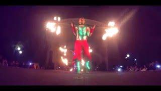 """Огненное шоу """"StroboS"""" - Программа RED (Фаер шоу в светодиодных костюмах)"""