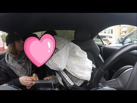 Лесбиянки в машине