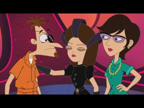 Phineas and Ferb Back to the 2nd Dimension Ending [CLIP][SPOILERS]