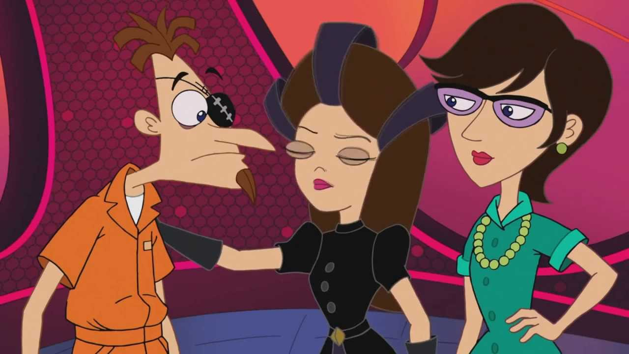 phineas and ferb sidetracked ending a relationship