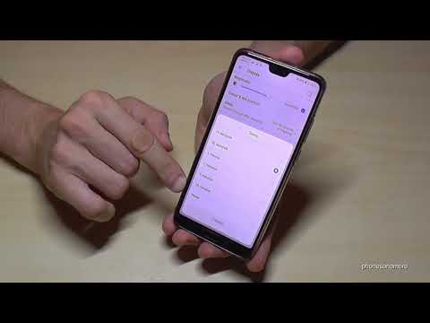 Huawei P20 (Lite): How To Set Up The Time To The Sleep Mode After Inactivity? Works Also For P20 Pro