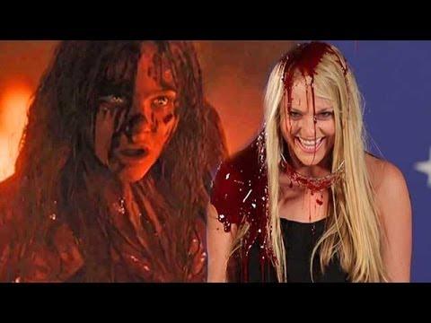 """Carrie"" Director Kimberly Peirce Talks Pig's Blood, On-Set Injuries & Alternate Endings!   toofab"
