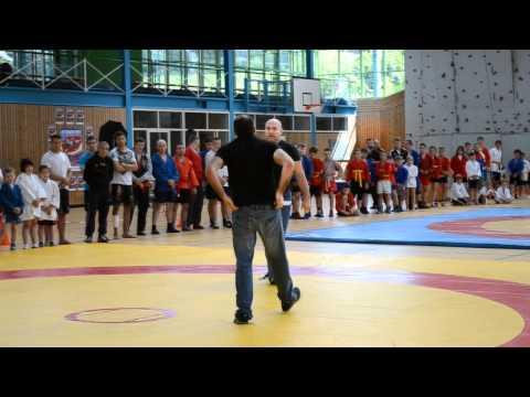 Systema presentation on Sambo Süd-deutsche Meisterschaft