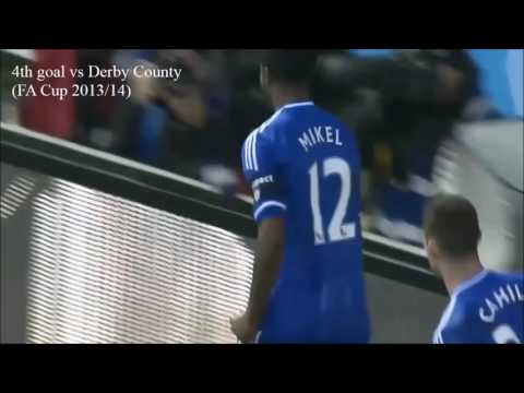 Mikel John Obi   goals for Chelsea FC
