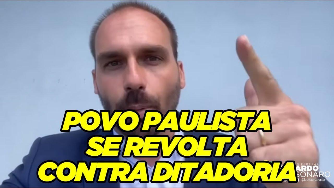 Povo paulista se revolta contra Ditadoria
