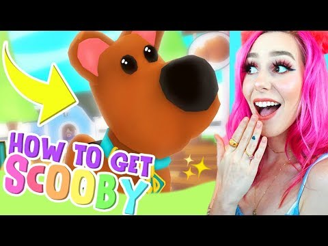 HOW TO GET SCOOB PET FOR FREE! New Scoob Update In ADOPT ME! (Roblox))
