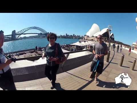 JoGuer in OZ - Picture time in Sydney Harbour!