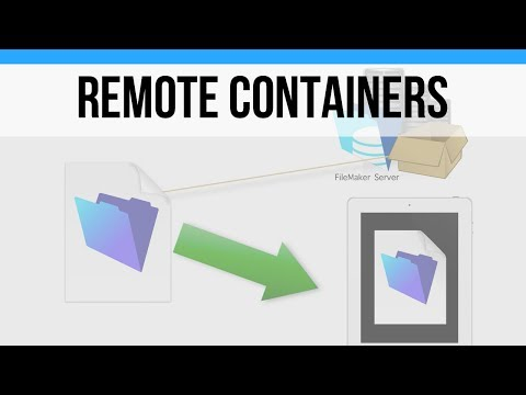 The Basics of Remote Containers | FileMaker Pro 16 Videos | FileMaker 16 Training