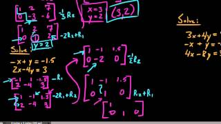 Inconsistent & Consistent-Dependent Systems with Augmented Matrices