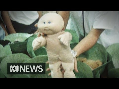 Cabbage Patch Kids 'birthed' In Store (1984)   RetroFocus