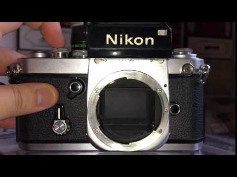 Nikon F2 mirror up shutter slow motion