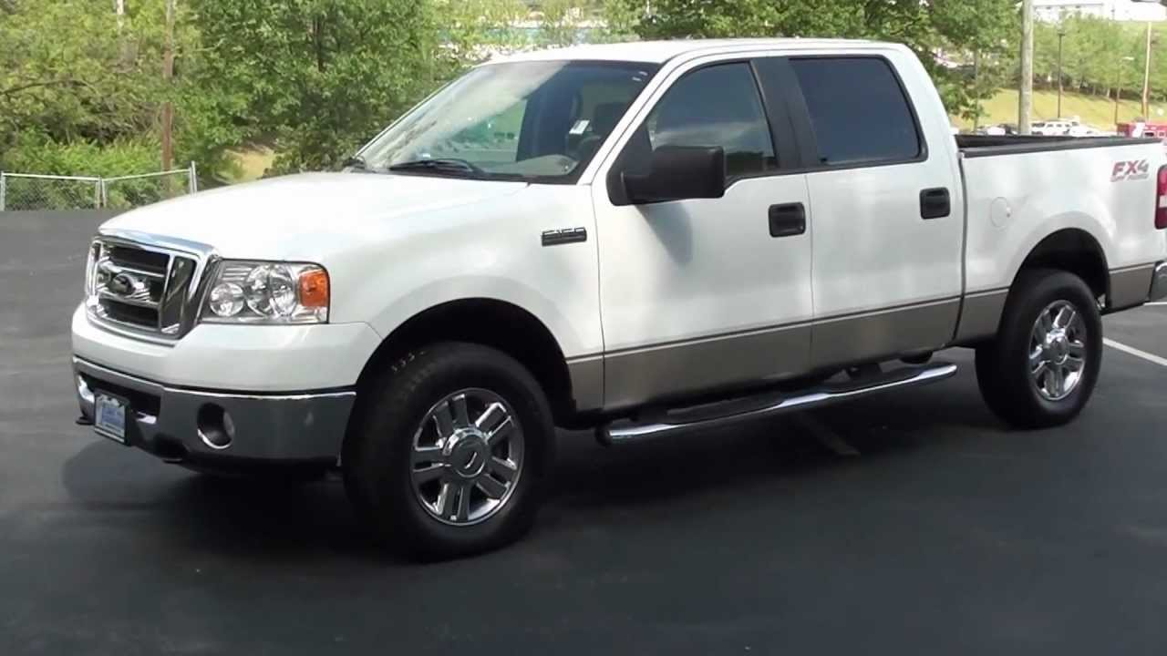 for sale 2008 ford f 150 fx4 off road 1 owner stk p6157 youtube. Black Bedroom Furniture Sets. Home Design Ideas