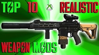 Top 10 Realistic Weapon mods. This video takes a look at the most r...
