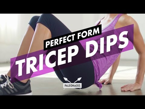 How to Do Tricep Dips + Mistakes & Variations