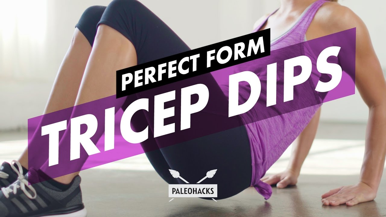 Tricep Dips | Perfect Form - YouTube
