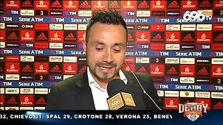 Roberto De Zerbi post Milan - Benevento