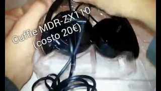 Recensione Sony MDR-ZX110