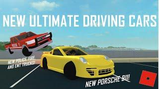 SOKAK YARISCILARINI GORDUK !!! / ROBLOX Ultimate Driving / ROBLOX Türkçe