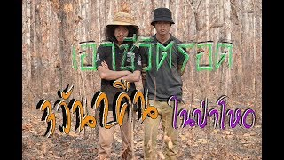 เอาชีวิตรอด..! ด้วยตัวเปล่า 3 วัน 2 คืน ในป่าสุดโหด  [ Jungle Funny ]