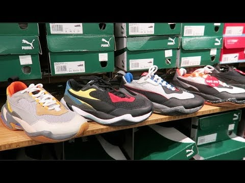 I FOUND THE WHOLE PUMA SPECTRA COLLECTION AT THE OUTLETS!