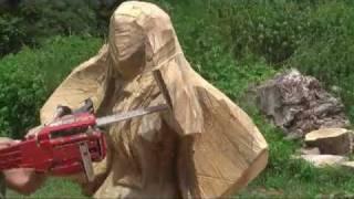 「ジェイソンさん」おっきな 澪を彫る「けいおん!」 秋山澪 動画 30