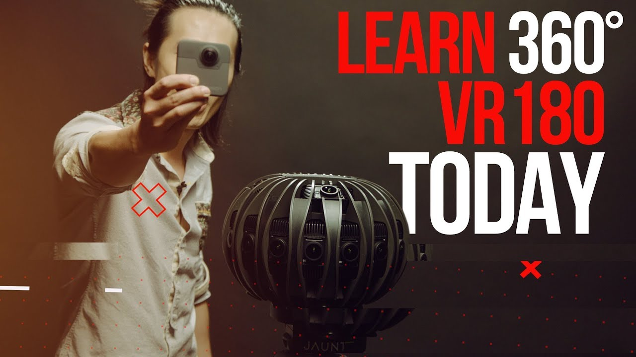 Learn Professional 3D 360°, 180VR Today - VR camera reviews & software  tutorials
