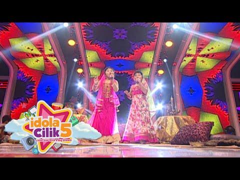 Duo Teri Nyanyi Ala India Lagu 'Boneka India' [Idola Cilik 5] [6 Feb 2016]