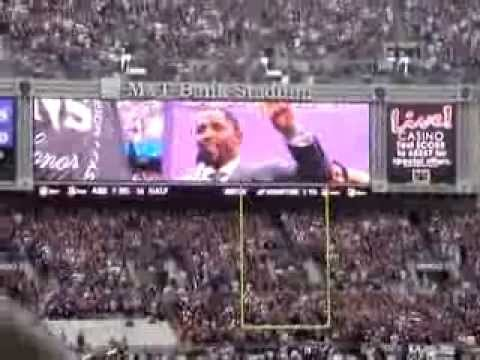 RAY LEWIS INTRODUCTION INTO THE RING OF HONOR !!!