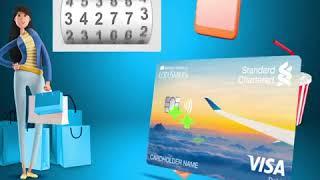 Giới thiệu tính năng tích điểm đổi vé máy bay thẻ visa