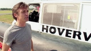 Richard Hammond on the Hovervan | Behind the scenes | Top Gear